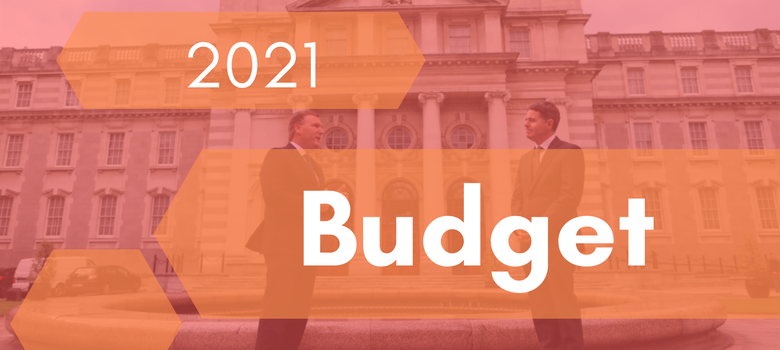 On 13 October the Minister of Finance, Mr. Paschal Donohoe presented the 2021 Budget