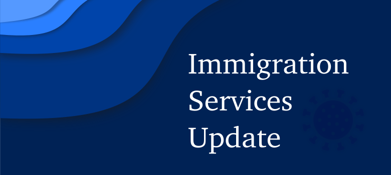 This is a quick summary of available resources and the most important news relating to temporary measures introduced by the Immigration Services in the face of Covid-19